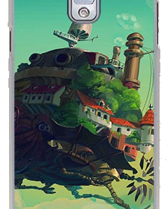 Howl's Moving Castle Phone Case for Galaxy Note 3 from World of Ghibli