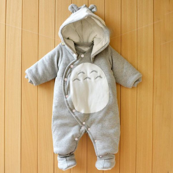 My Neighbor Totoro Baby Winter Romper from World of Ghibli