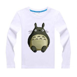 My Neighbor Totoro Kids Long-Sleeved Cotton Tee from World of ghibli