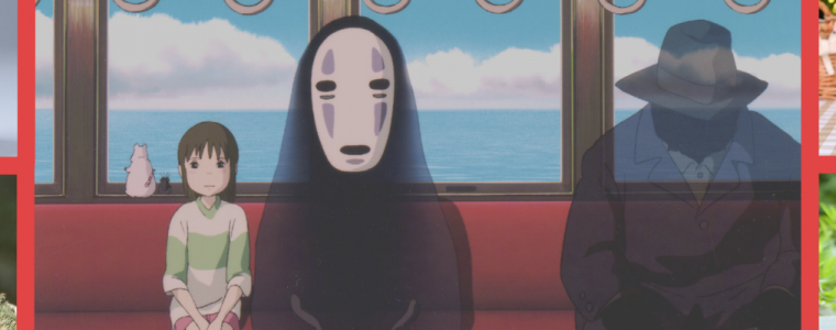 Spirited Away memorabilia from www.worldofghibli.com