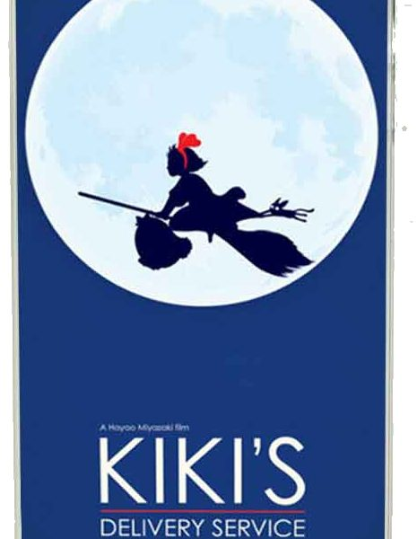 Kiki's Delivery Service iPhone Case from World of Ghibli