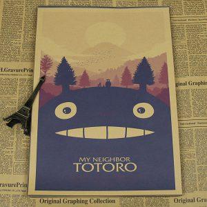 My Neighbor Totoro Movie Poster from World of Ghibli