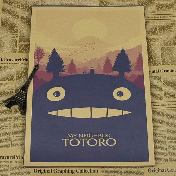 My Neighbor Totoro Movie Poster from World of Ghibli