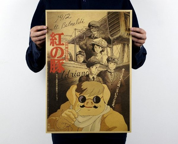Porco Rosso Movie Poster from World of Ghibli