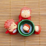 Ponyo Miniature Collectible Figurines from World of Ghibli