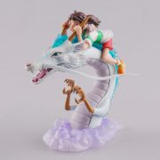 Spirited Away Collectible Figurine - Chihiro and Haku - from World of Ghibli
