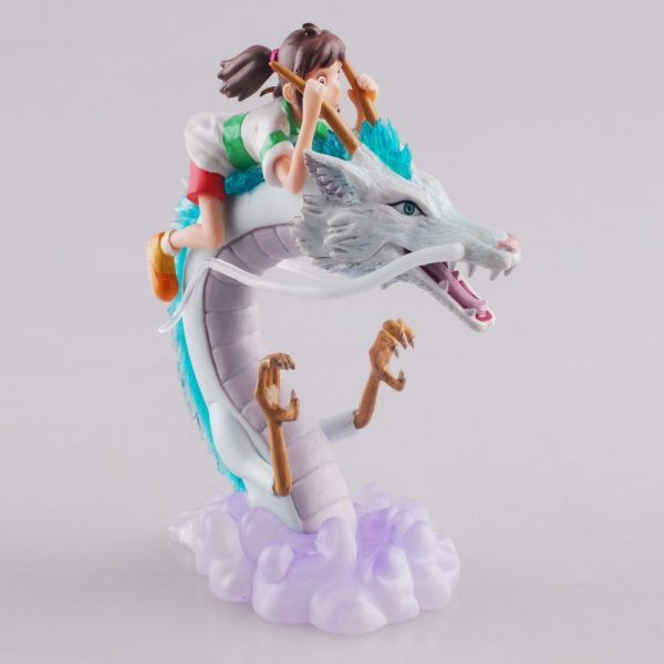 Spirited Away Collectible Figurine – Chihiro and Haku – from World of Ghibli