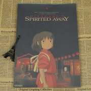 Spirited Away Movie Poster from World of Ghibli