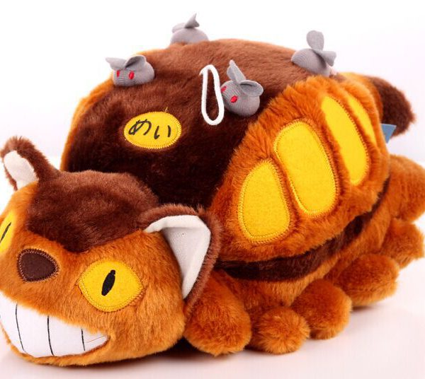 My Neighbor Totoro Cat Bus Plush Toy from World of Ghibli