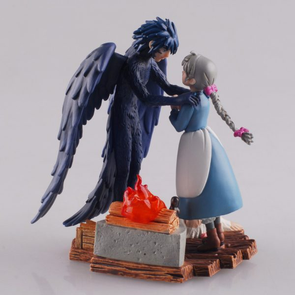 Howl's Moving Castle Collectible Figurine – Howl with Sophie – from World of Ghibli