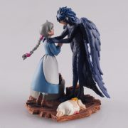 Howl's Moving Castle Collectible Figurine - Howl with Sophie - from World of Ghibli