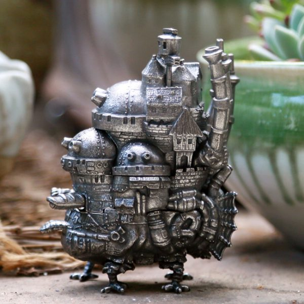 Howl's Moving Castle Miniature Model – Limited Edition – from World of Ghibli