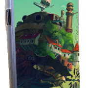 Howl's Moving Castle Phone Case for Galaxy Note 2 from World of Ghibli