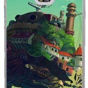 Howl's Moving Castle Phone Case for Galaxy Note 4 from World of Ghibli