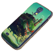 Howl's Moving Castle Phone Case for Galaxy S4 Mini & S4 Mini+ from World of Ghibli