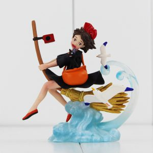 Kiki's Delivery Service Figurine - Kiki Flying - from World of Ghibli