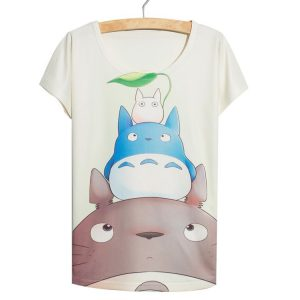My Neighbor Totoro Women's T-Shirt - Totoro and Friends - from World of Ghibli
