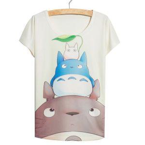 My Neighbor Totoro Women's T-Shirt - Totoro and Friends - from World of Ghibli