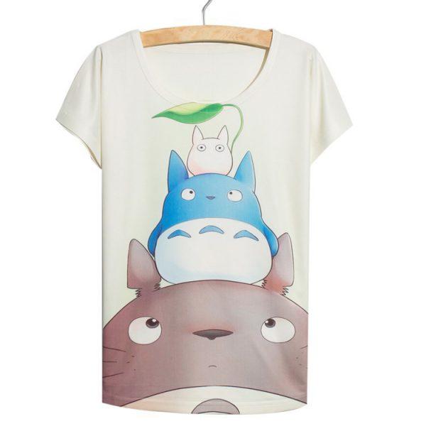 My Neighbor Totoro Women's T-Shirt – Totoro and Friends – from World of Ghibli