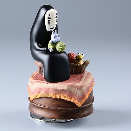 Spirited Away Musical Figurine – No-Face – from World of Ghibli
