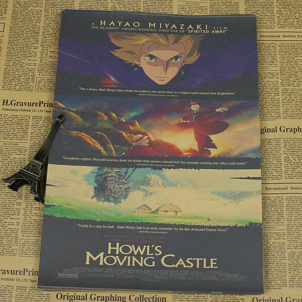 Howl's Moving Castle Poster (Small)