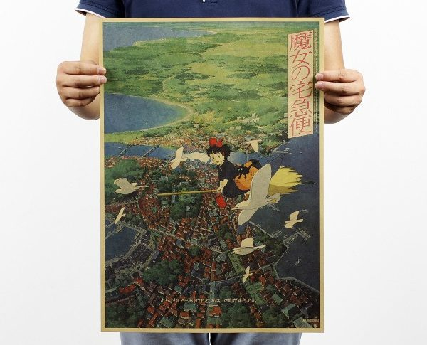Kiki's Delivery Service Poster from World of Ghibli
