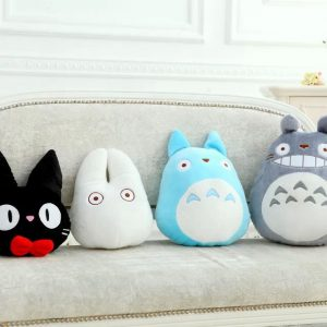 Gentil My Neighbor Totoro Cushion From World Of Ghibli