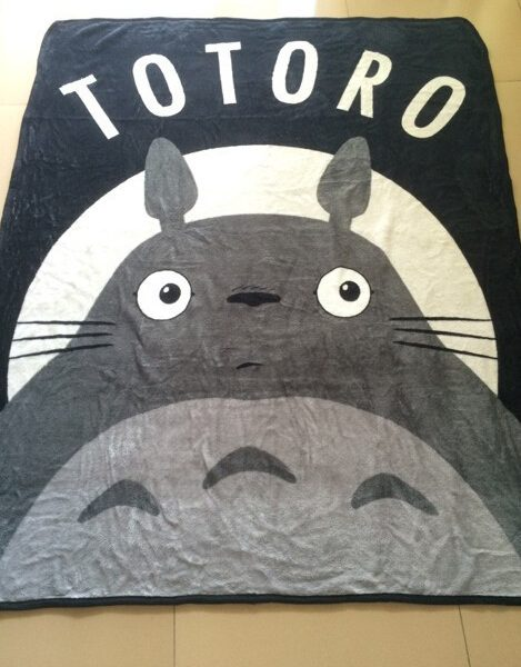 My Neighbor Totoro Fleece Throw Blanket from World of Ghibli
