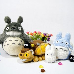 My Neighbor Totoro Plushie Set - 5 Huggable Friends - from World of Ghibli