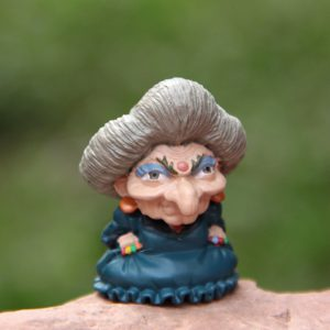 Spirited Away Miniature Figurine - Yubaba - from World of Ghiblia