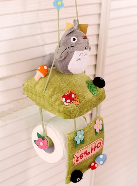 My Neighbor Totoro Toilet Paper Holder from www.worldofghibli.com