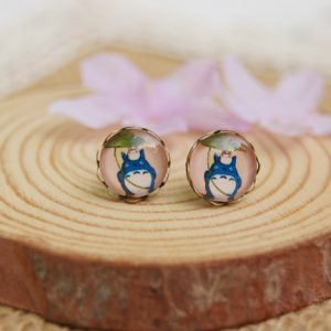My Neighbor Totoro Earrings from www.worldofghibli.com